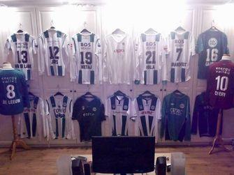 alle FC Groningen shirts van Arjan Wijngaard