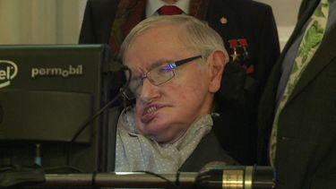 14 maart - Kosmoloog Stephen Hawking overleden