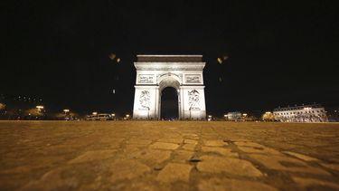 Arc de Triomphe Parijs Christo