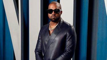 Foto van Kanye West