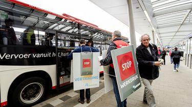 Geen bussen op 30 april en 1 mei vanwege de staking
