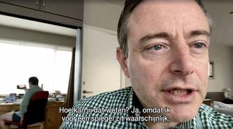 Antwerpse burgemeester in onderbroek