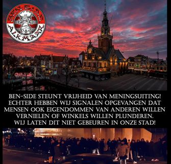 Ben-Side beschermt Alkmaar tegen avondklokrellen
