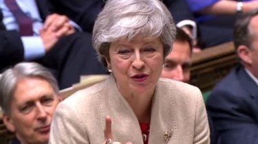 Het Lagerhuis stemde vrijdag opnieuw een deel van Mays Brexitakkoord weg. Foto: ANP