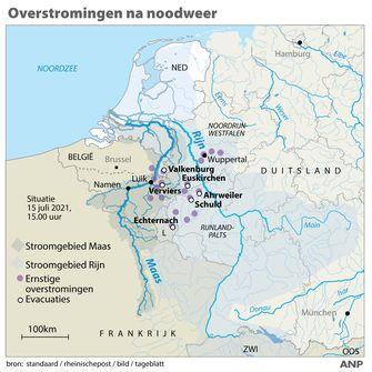 watersnood Duitsland water
