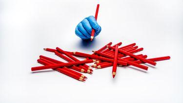 Een illustratiefoto van hoe de verkiezingen coronaproof kunnen verlopen