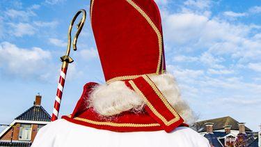 Een foto van Sinterklaas.