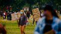 Het Malieveld dient de afgelopen dagen vaak als toneel voor demonstraties