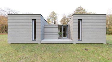 Dit luxe huis is bijna helemaal van afvalplastics gemaakt