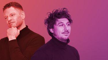 Een foto van Jelte Sondij en Lars Gierveld, makers van de documentaire Is Geluk Te Koop?