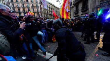 Ongeveer 100 gewonden bij protesten voor Puigdemont