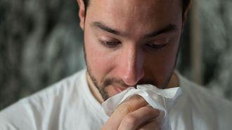 griep snotneus ziek