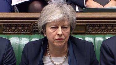Theresa May op dinsdag 15 januari. Foto: ANP