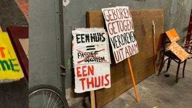 wooncrisis Amsterdam woonprotest woningcrisis woningmarkt