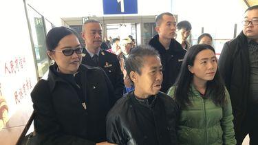 De vrouw is weer veilig thuis. Foto: ANP