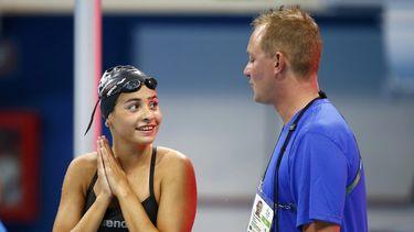 Yusra (18) zwom voor haar leven, gaat nu voor goud