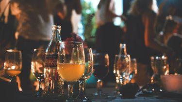 Foto van feestje