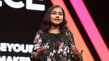 Foto van Gitanjali Rao het Kind van het Jaar 2020