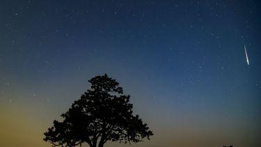 Grote meteoor boven het noorden van Nederland