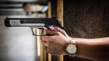 Foto van een pistool ter illustratie. Beeld: ANP