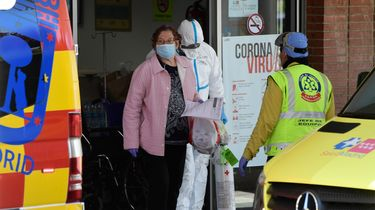 Recordaantal Besmettingen Rusland Dodental Spanje Loopt Op