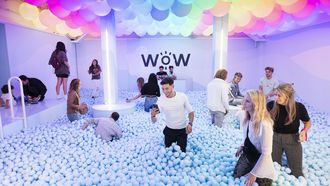 Pop-up museum WONDR: Instagram-walhalla of speeltuin voor volwassene?