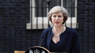 De Britse premier Theresa May. Foto: EPA | Andy Rain