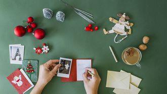 We zijn een stuk creatiever geworden als het om kerstkaarten gaat. / Getty Images