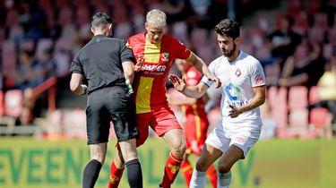 Een foto van de wedstrijd Go Ahead Eagles - Telstar, afgelopen weekend