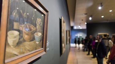Sprinkhaan gevonden in schilderij Vincent Van Gogh