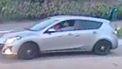 foto van de Mazda die de politie zoekt