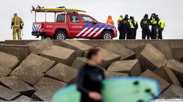 Zoekactie politie bij Scheveningen gestopt