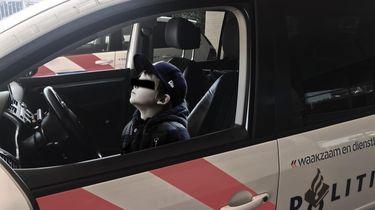 Jongetje van elf betrapt achter stuur.