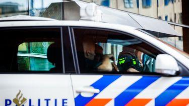 Foto van een politieauto