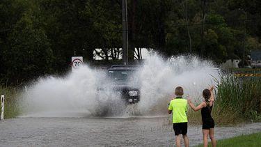 Regenval Australië, overstromingen, Sydney,