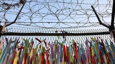 grens Noord-Korea en Zuid-Korea