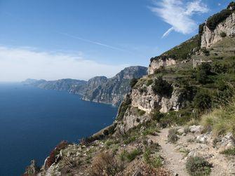 Sentiero degli Dei, amalfi kust