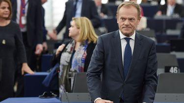EU-president Donald Tusk roep alle EU-leiders opnieuw bij elkaar in verband met de Brexit. Foto: ANP