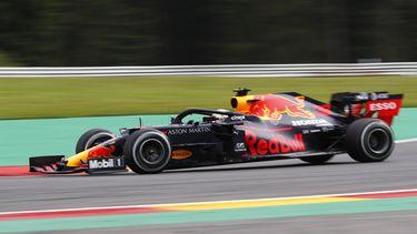 Max Verstappen in Spa