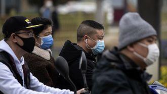 Coronabesmettingen China vlakt verder af
