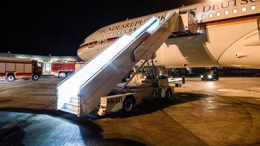 Regeringsvliegtuig Merkel niet gesaboteerd