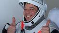 Een foto van Bob Behnken, de astronaut die eerder dit jaar in een raket werd gelanceerd