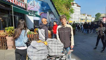In Berlijn is statiegeld verzamelen een (bij)baantje
