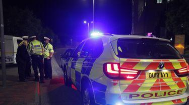 De Britse politie bij de steekpartij in Reading