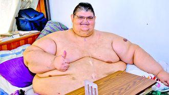 Dikste man ter wereld verliest 334 kilo