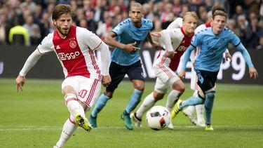 Lasse Schöne komt altijd weer bovendrijven bij Ajax