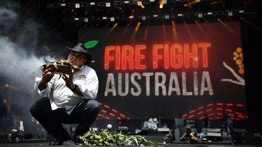 Sydney houdt groot benefietconcert voor bosbranden.