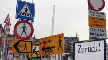 Twintig procent verkeersborden overbodig in Nederland