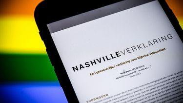 'Nashville-verklaring géén stap terug in de tijd'