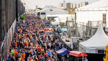 Drukte bij Formule 1 Grand Prix in Zandvoort
